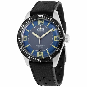 Oris 733-7707-4065RS Divers Sixty-Five Mens Automatic Watch