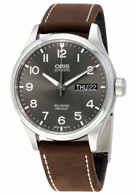 Oris 752-7698-4063BRLS Big Crown Pro Pilot Mens Automatic Watch