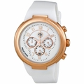 Philip Stein 32-ARGW-RW Active Large Unisex Chronograph Quartz Watch