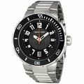 Philip Stein 34-BB-SS Extreme Mens Quartz Watch