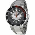 Philip Stein 34-BGR-SS Extreme Mens Quartz Watch