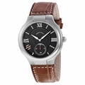 Philip Stein 42-BK-ASBR  Mens Quartz Watch