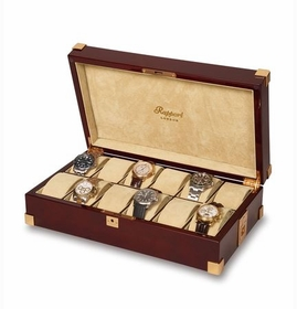 Rapport Captain's 12 Watch Collector Case