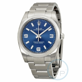 Rolex 114200BLASO Oyster Perpetual 34 Mens Automatic Watch