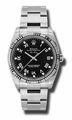Rolex 114234BKRDO Air King Mens Automatic Watch