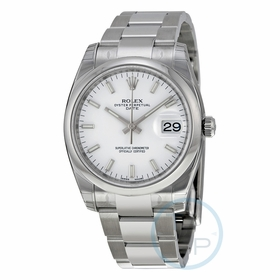 Rolex 115200WSO Oyster Perpetual Date 34 Mens Automatic Watch