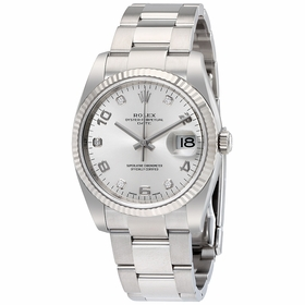 Rolex 115234SADO Oyster Perpetual Date 34 Mens Automatic Watch