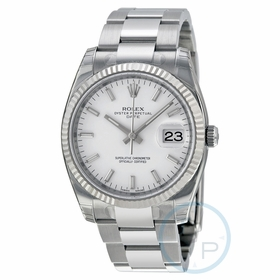 Rolex 115234WSO Oyster Perpetual Date 34 Mens Automatic Watch