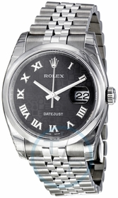 Rolex 116200-BKRJ Datejust 36 Mens Automatic Watch