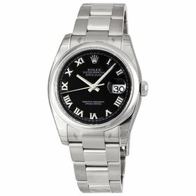 Rolex 116200-BKRO Datejust 36 Mens Automatic Watch