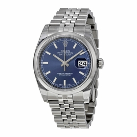 Rolex 116200-BLSJ Datejust 36 Mens Automatic Watch