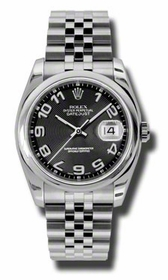 Rolex 116200BKCAJ Datejust Mens Automatic Watch