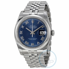 Rolex 116200BLRJ Datejust 36 Mens Automatic Watch