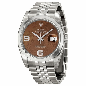 Rolex 116200BRFAJ Datejust 36 Ladies Automatic Watch