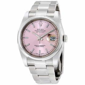 Rolex 116200PSO Datejust 36 Mens Automatic Watch