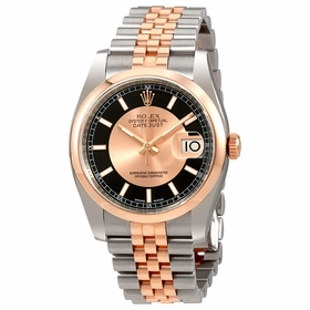 Rolex 116201BKPSJ Datejust 36 Mens Automatic Watch