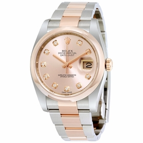 Rolex 116201PDO Datejust 36 Mens Automatic Watch