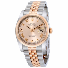 Rolex 116201PKRJ Datejust 36 Mens Automatic Watch