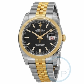 Rolex 116203BKSJ Datejust 36 Mens Automatic Watch