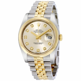 Rolex 116203SDJ Datejust Mens Automatic Watch