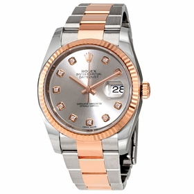Rolex 116231CHFDAJ Oyster Perpetual Datejust Mens Automatic Watch