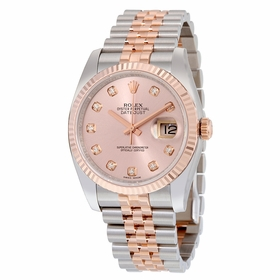 Rolex 116231PDJ Oyster Perpetual Datejust 36 Mens Automatic Watch