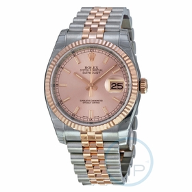 Rolex 116231PSJ Oyster Perpetual Datejust 36 Ladies Automatic Watch