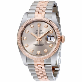 Rolex 116231RDJ Datejust 36 Mens Automatic Watch