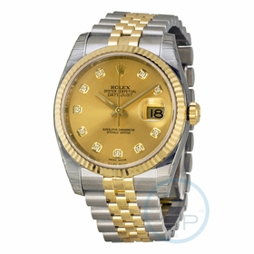 Rolex 116233-CDJ Oyster Perpetual Datejust 36 Mens Automatic Watch