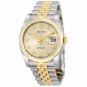 Rolex 116233-SJDJ Oyster Perpetual Datejust 36 Mens Automatic Watch