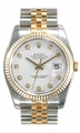 Rolex 116233-WDJ Datejust Mens 31 Jewels Automatic Watch