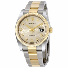 Rolex 116233SJDO Oyster Perpetual Datejust 36 Mens Automatic Watch