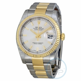 Rolex 116233SSO Oyster Perpetual Datejust 36 Mens Automatic Watch