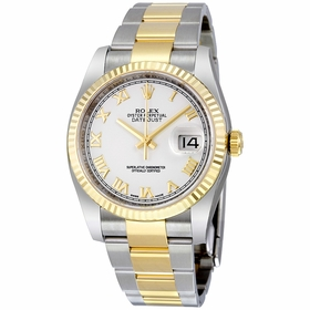 Rolex 116233WRO Oyster Perpetual Datejust 36 Mens Automatic Watch