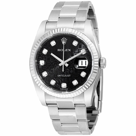 Rolex 116234BKJDO Oyster Perpetual 36 Mens Automatic Watch