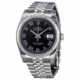 Rolex 116234BKRJ Oyster Perpetual Datejust 36 Mens Automatic Watch