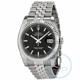 Rolex 116234BKSJ Oyster Perpetual Datejust 36 Mens Automatic Watch