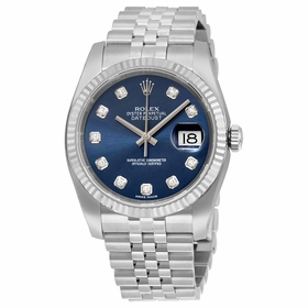 Rolex 116234BLDJ Oyster Perpetual Datejust 36 Mens Automatic Watch