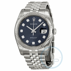 Rolex 116234BLJDJ Oyster Perpetual Datejust 36 Ladies Automatic Watch