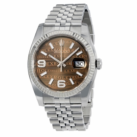 Rolex 116234BRJADJ Datejust 36 Mens Automatic Watch