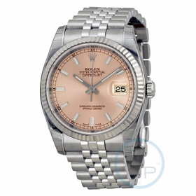 Rolex 116234PSJ Oyster Perpetual Datejust 36 Mens Automatic Watch