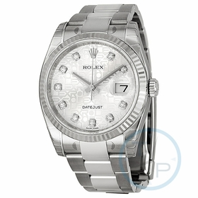 Rolex 116234SJDO Oyster Perpetual 36 Ladies Automatic Watch