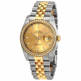 Rolex 116243CSJ Oyster Perpetual Datejust 36 Ladies Automatic Watch