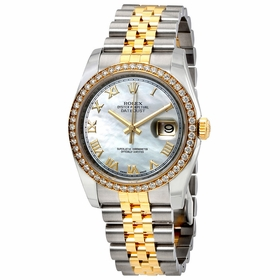 Rolex 116243MRJ Oyster Perpetual Datejust 36 Ladies Automatic Watch