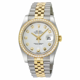 Rolex 116243WDJ Oyster Perpetual Datejust 36 Ladies Automatic Watch