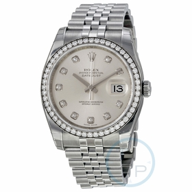 Rolex 116244SDJ Oyster Perpetual Datejust 36 Ladies Automatic Watch