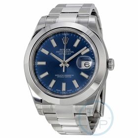Rolex 116300BLSO Datejust II Mens Automatic Watch