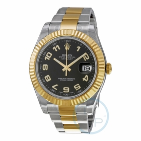 Rolex 116333BKAO Datejust II Mens Automatic Watch