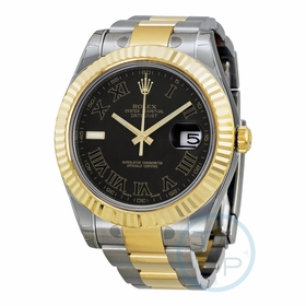 Rolex 116333BKRO Datejust II Mens Automatic Watch