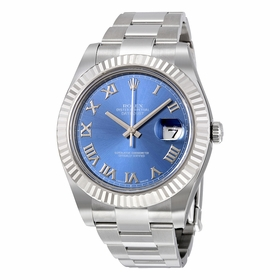 Rolex 116334-BLRO Datejust II Mens Automatic Watch